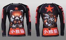 Tatami Fightwear Men's Meerkatsu Red Panda BJJ MMA Rash Guard Medium