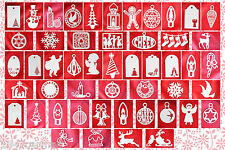 CRAFT ROBO/SILHOUETTE Christmas Card Topper templates CD95 by cocopopart