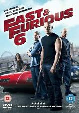 FAST AND FURIOUS [6,Six] Vin Diesel*Paul Walker*The Rock Car Crime Epic DVD *EXC