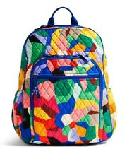 Vera Bradley Pop Art  Campus Backpack NWT 2016 Pattern Ship Free
