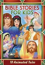BIBLE STORIES FOR KIDS 10 ANIMATED TALES New 2 DVD Set Free Ship 7 hours 45 min