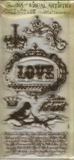 Tim Holtz Clear Stamps - URBAN GRUNGE -#32