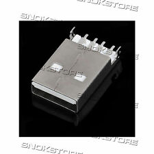 2pcs USB 4-pin male SMT SOCKET CONNECTOR TYPE A CONNETTORE USB 4pin tipo A