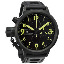 U-Boat Flightdeck Black Dial Automatic Chronograph Mens Watch 1086