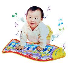 New Baby Kid Cartoon Fish Piano Music soft Mat Developmental Music relationship