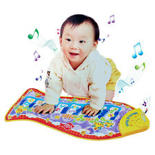 Musical Music Piano Fish Play Mat Kid Animal Educational Baby Soft Kick Toy Gift