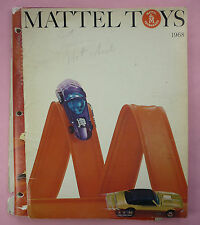 1968 MATTEL TOYS CATALOG - BARBIE, HOT WHEELS, ETC