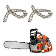 2x 50 Drive Links Steel Chainsaw Saw Chain 3/8 Pitch for chainsaw bar of 35cm