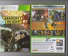 ANARCHY REIGNS XBOX 360 / X BOX 360