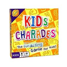 Kids Charades Game Fun Acting Kids Game for Home Play or Party Game