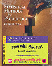 Statistical Methods for Psychology by David C. Howell. 5th Edition