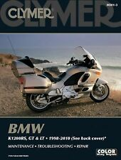 1999-2010 BMW K1200LT, 98-05 K1200RS. 03-05 K1200GT Clymer Repair Manual M5013