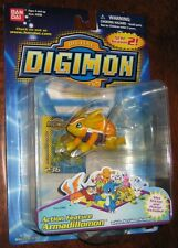 Digimon Action Feature Armadillomon Figure MOC Bandai 2000 Series 2 Fox Kids