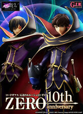 G.E.M. Code Geass Lelouch of the Rebellion Zero Suzaku 10th Anniversary Figure