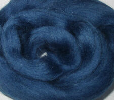 Soft Merino Wool Roving, Navy Blue, for dreads,wet/needle felting,spinning,dolls