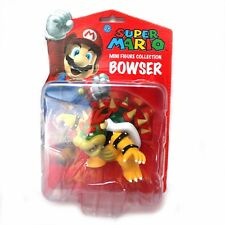 "Super Mario Bros. Brothers King Koopa Bowser Action Figure 4"" New in Package"