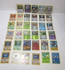 Lot of (35) Mixed Pokemon Common/Uncommon /Rare / 1st Edition Trading Cards