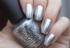 OPI Gwen '14 ~UNFROST MY HEART~ Chrome Silver Shimmer Nail Polish Lacquer F14