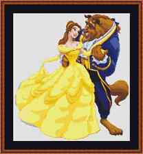 Beauty And The Beast Cross Stitch Kit