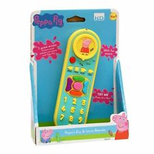 New Peppa Pig Zap & Learn Remote Control