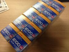 Lot of 10 Kodak Ektachrome E100VS Film  ISO 100 / Color Reversals / 36 exp