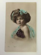 Vintage Postcard - Alfred Stiebel & Co Alpha Series #2417 Child - posted 1911