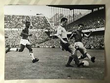 photo press football   World Cup 1958  Finale Brazil-Suede      311