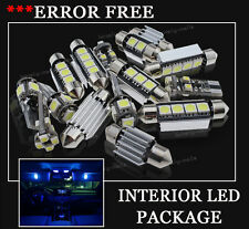 14x Bulbs For VW GOLF MK5 R32 GTI SDI INTERIOR PACKAGE XENON BLUE LED LIGHT KIT