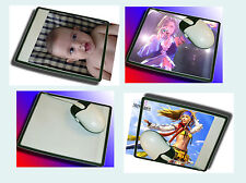 Lot of 3pcs Custom Photo Insert Pic Mousepad Mouse Mat