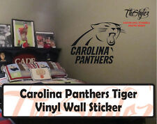Carolina Panthers II Custom Vinyl Wall Sticker