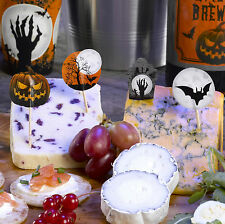 Graveyard Gathering Halloween Party Food Picks Toppers Pack of 20, Adults Teens