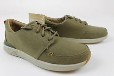 Reef Mens Rover Low TX Shoes Military Green 9 New