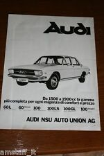 AT3=1972=AUDI 100 LS=PUBBLICITA'=ADVERTISING=WERBUNG=