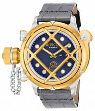 NEW Invicta Men's 16204 Russian Diver Swiss Made Mechanical Nautilus Gold Tone