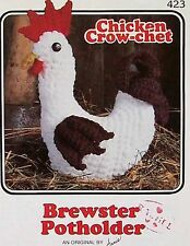 Chicken Crow-Chet  Brewster  Potholder  Pattern  Annie's Attic