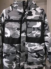 Snow Camo, Ski Parka,Snowboard Jacket, size XL pulse,SEND MEASURED INFO can fit