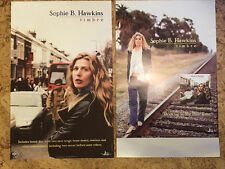 "Sophie B Hawkins ""Timbre"" Promo Tour Poster 11"" x 17"" 2001 Double sided! HTF"
