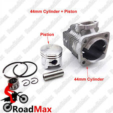 44mm Cylinder 12mm Piston Kit For 49cc 2 Stroke Mini Quad ATV Pocket Dirt Bike