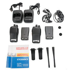 2Pcs Baofeng BF-777S 400-470MHz Two-Way Radios Walkie Talkie with Free Earpiece