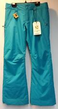 Burton Youth Sweetart Snowboard Winter Pant Bohemian Aqua Size Girls Medium NEW