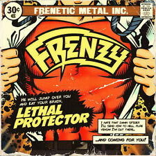FRENZY - Lethal Protector (NEW*HEAVY/SPEED METAL*EX-STEEL HORSE*RACER X*J.PRIEST