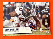 2016 Panini Fathers Day Promotion Elements VON MILLER Broncos #8