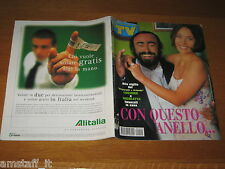 TV SORRISI E CANZONI=1999/22=LUCIANO PAVAROTTI=PAOLA SALUZZI=AMERIGO VESPUCCI=