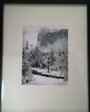 """Special Edition Photograph Initialed by Ansel Adams, """"El Capitan, Winter"""""""