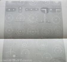 Stampa ANTICO DATATO c1880s halos parhelia ILLUSTRATO diagramma VINTAGE