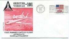 1977 Orbiter Vehicle 101 Space Shuttle Manned & Captive Flight Haise Fullerton