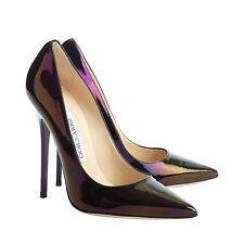 [NEW] Jimmy Choo | Anouk | Petrol Holo | UK 4 | EU 37 | RRP $675 | High Heels
