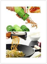 Hot Mini Vegetable Fruit Spiralizer Twister Spiral Slicer Cutter Kitchen Tool #F