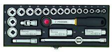 Steckschlüsselsatz Proxxon Wergzeugset 3/8 Zoll Steckschlüssel Set 24-tlg.