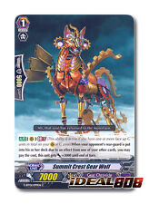 Cardfight Vanguard  x 4 Summit Crest Gear Wolf - G-BT01/099EN - C Mint